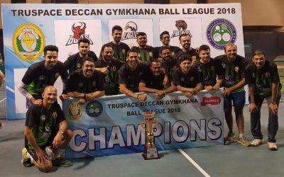 Deccan Gymkhana Ball League 2018