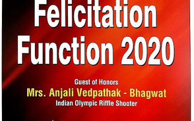 Annual Felicitation Function of Meritorious Sportspersons 2020