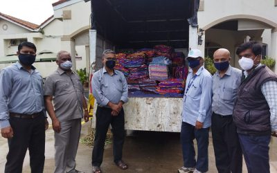 DG extends help to Flood Victims
