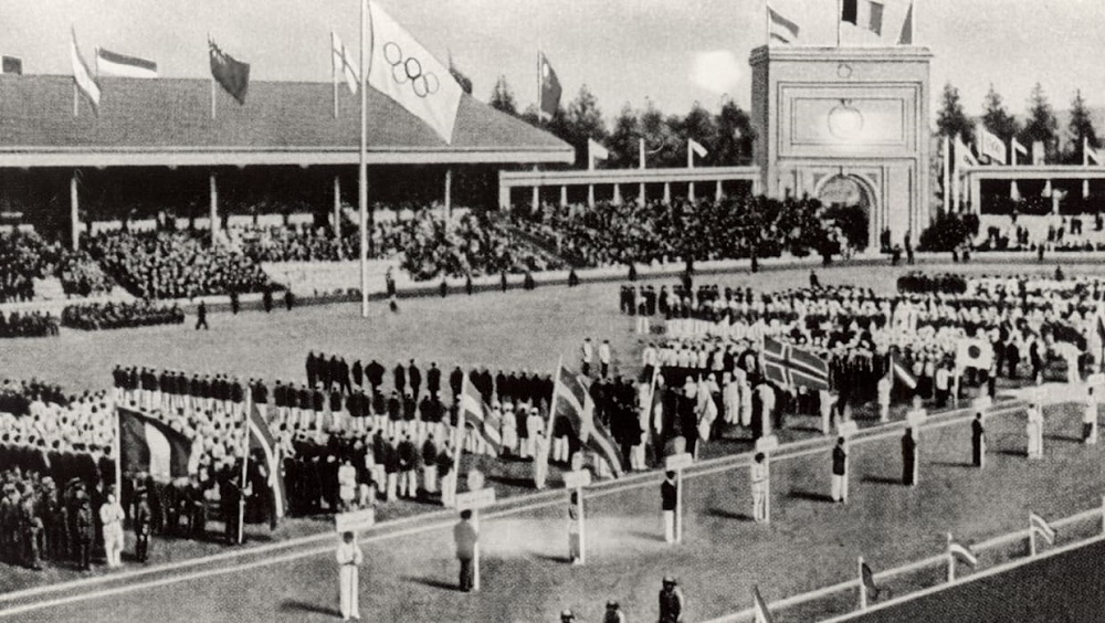 Honour of India's First Olympics Trials at Deccan Gymkhana in 1919.